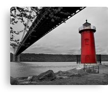Little Red Lighthouse Canvas Print