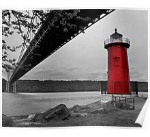 Little Red Lighthouse Poster