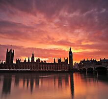 The Houses Of Parliament by Sebastian Wuttke
