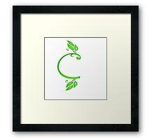 Alphabet c Framed Print