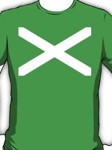 St. Andrew's Cross - Scottish Flag T-Shirt