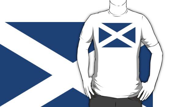 St. Andrew's Cross - Scottish Flag (design 2) by weijiahua