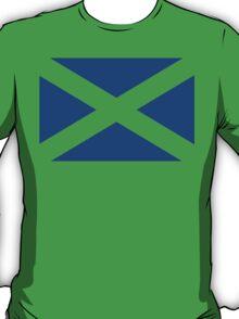 St. Andrew's Cross - Scottish Flag (design 2) T-Shirt