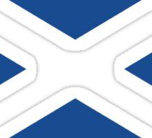 St. Andrew's Cross - Scottish Flag (design 2) Sticker
