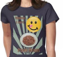Love for Pinto Beans Womens Fitted T-Shirt
