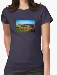On The Rural Road Womens Fitted T-Shirt