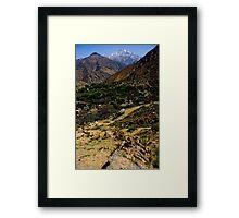 Berber Village Framed Print