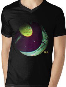 Let The Music Play Mens V-Neck T-Shirt