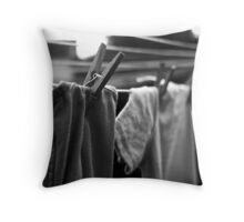All Pegged Out Throw Pillow