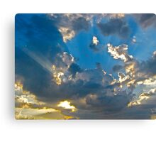 Surreal Sky - Orlando, Florida  Canvas Print