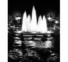 Oklahoma City Fountain  Photographic Print