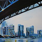Under the Granville Bridge by Sandrine Pelissier