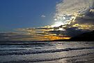 Sunset at Sea – Pettycur Bay by abinning