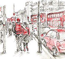 Red Objects in London - 2011 by Artistuk
