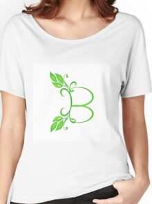 Letter B Women's Relaxed Fit T-Shirt