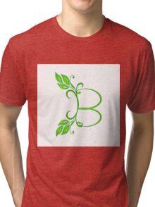 Letter B Tri-blend T-Shirt