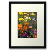 """""""Spring Bouquet""""  Framed Print"""