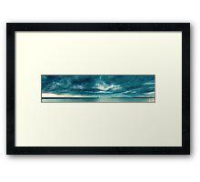 Thin Blue Line Framed Print