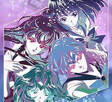 Outer Senshi by neocrystaltokyo