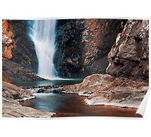 Cedar Creek Waterfall Poster