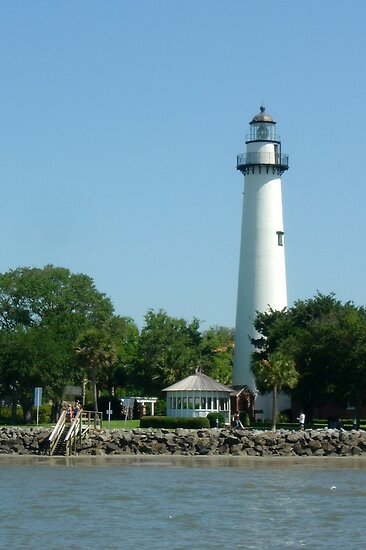 St. Simons Island Lighthouse by AuntDot