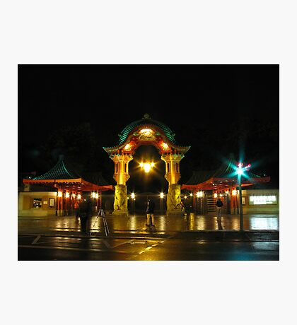 Berlin Zoo Entrance Photographic Print
