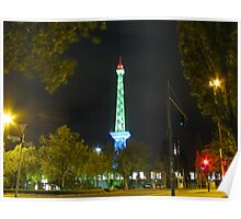 Berlin Broadcasting Tower Poster