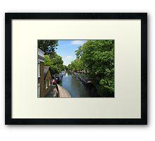 Little Venice in London Framed Print