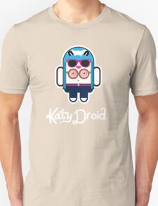 Katy Perry goes Google Android Style! Unisex T-Shirt
