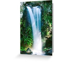 Curtis Falls waterfall Greeting Card