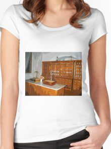 Pharmacy - The Shop Women's Fitted Scoop T-Shirt