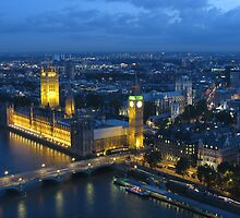 Big Ben from above by Andre090904