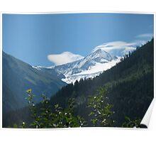 Grossvenediger in Austrian Alps Poster