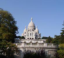 Sacre Coeur in Paris by Andre090904