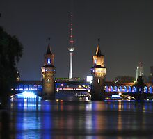 Berlin TV Tower and Oberbraumbrücke by Andre090904