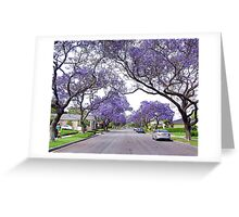 Purple Haze Greeting Card
