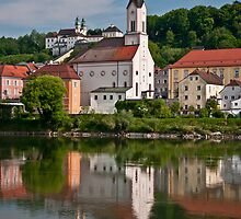 Passau, Germany by Wanda Dumas
