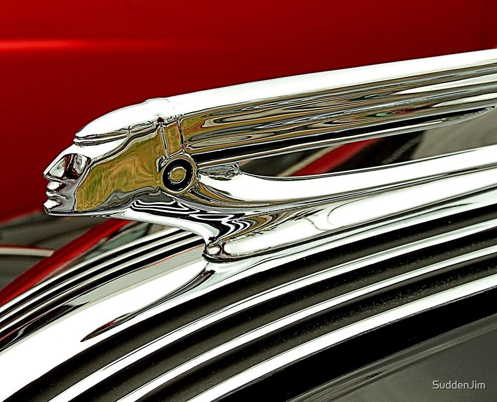 1937 Pontiac Hood Ornament by SuddenJim