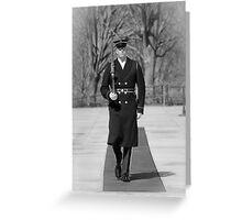 Tomb Guard Sentinel Greeting Card