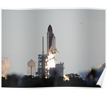 Launch of Endeavour on STS-134 Poster