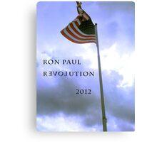 RON PAUL REVOLUTION 2012 Canvas Print