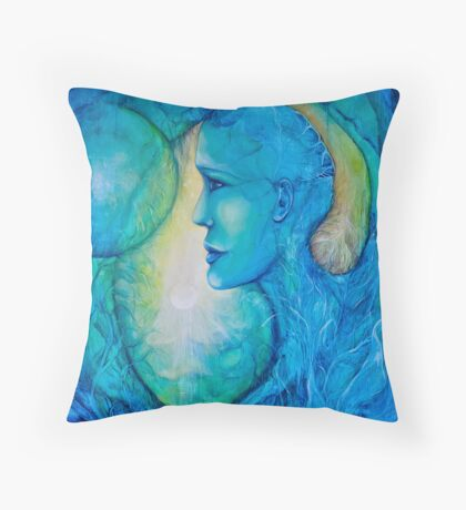 The Soul of the World Throw Pillow