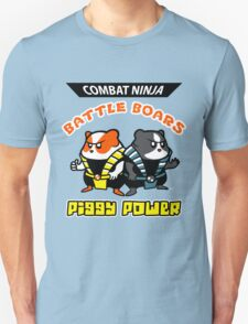 Combat Ninja Battle Boars Unisex T-Shirt