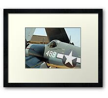 Vought F-4U Corsair, WWII Framed Print