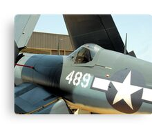 Vought F-4U Corsair, WWII Canvas Print