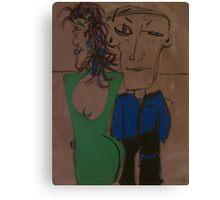 Harry & Sally Canvas Print