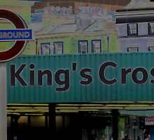 Kings Cross Underground-Tube by Darrell-photos