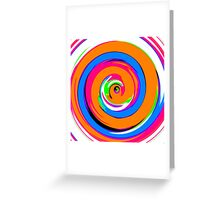 All The Colours Of The Rainbow 03 Greeting Card