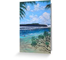 RAGS RIGHTS, MENTAWAIS ISLANDS Greeting Card