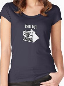 KLF Chill Out Women's Fitted Scoop T-Shirt